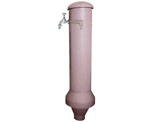 Pompe à eau pour colonne sur jardin, rouge granite