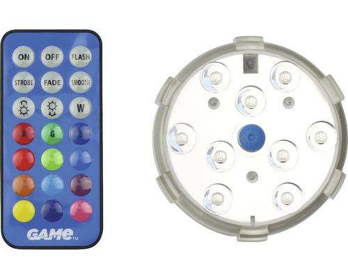 Projecteur immergé, télécommande inclue