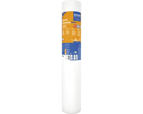 Intissé thermique Erfurt Thermovlies KlimaTec Basic 10 m x 0,75 m x 1 mm