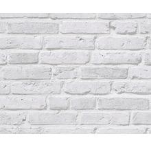 Papier peint intissé 94283-2 Wood´n & Stone pierre gris clair-thumb-0