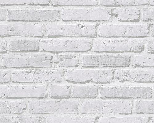 Papier peint intissé 94283-2 Wood´n & Stone pierre gris clair-0