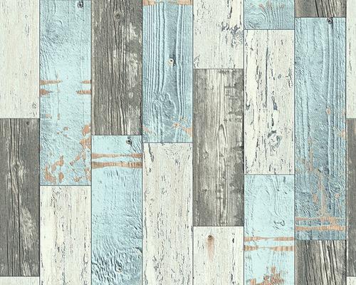 papier peint intiss 96246 1 faro 4 bois bleu lavable hornbach luxembourg. Black Bedroom Furniture Sets. Home Design Ideas