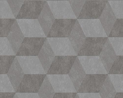 Papier peint intissé 30398-2 Michalsky Living 2 losanges gris