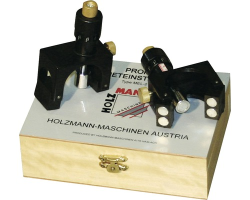 Magneteinstelllehre für Hobelmesser Holzmann 2-tlg