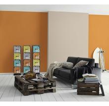 Papier peint intissé 3095-87 Meistervlies 5 uni lisse orange-thumb-4