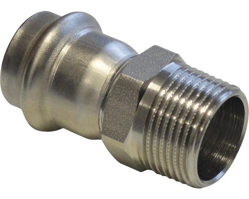 """Raccord à compression Viega Sanpress pièce de recouvrement 35mmx5/4"""" filetage extérieur inox 436544"""