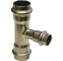 Raccord à compression Viega Sanpress pièce en T 42x28x42mm inox 436049-thumb-0