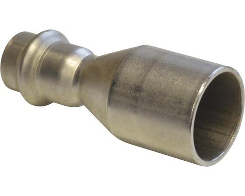Raccord à compression Viega Sanpress réducteur 42x22mm inox 436315-0