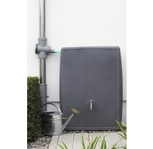 Cuve de collecte d''eau de pluie 3P Concrete 200 litres, gris-thumb-1
