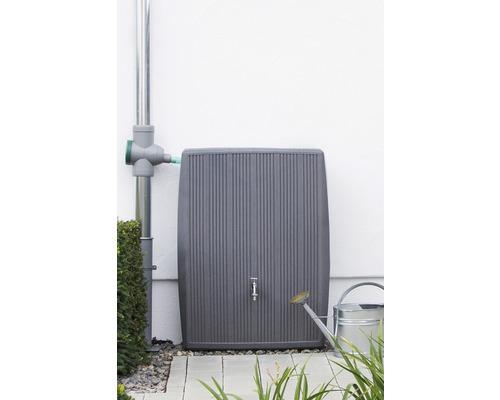 Cuve de collecte d''eau de pluie 3P Concrete 200 litres, gris-0