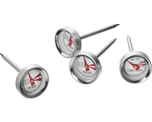 Thermomètre à steak/viande Tenneker® 4 pièces