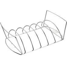 Support pour rôti et côtelettes Tenneker® 43x22,5x12,5 cm acier inoxydable