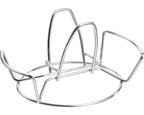 Support pour volaille Tenneker® panier pour barbecue, support barbecue, acier inoxydable-0