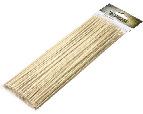 Pics en bambou Tenneker® brochettes pour barbecue L 30 cm 100 pces