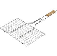 Grille réversible Tenneker® acier 95x36 cm-thumb-1
