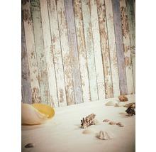 Papier peint intissé 95914-1 Wood´n & Stone clôture bleu vert-thumb-2