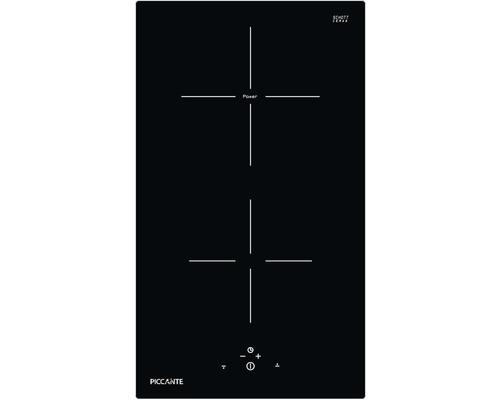 Plaque à induction PICCANTE largeur 30 cm avec 2 zones de cuisson