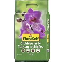 FloraSelf ® Terreau pour orchidées 2.5 L-thumb-0