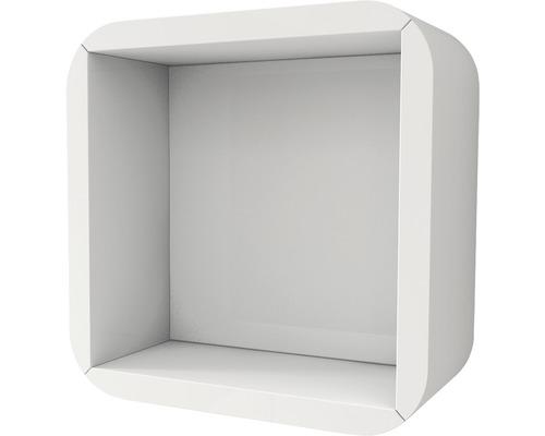 Étagère suspendue blanc 32x32 cm