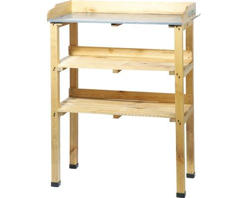 Table de rempotage bois de pin 76 x 37 x 102 cm-0