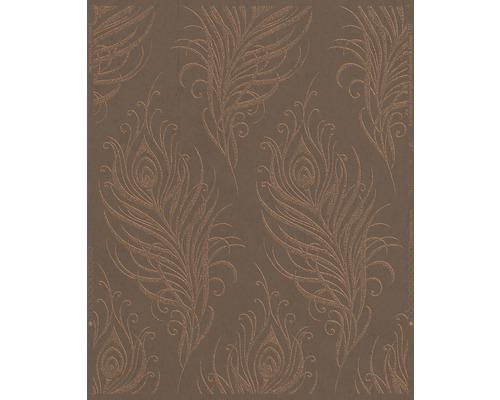 Papier peint intissé Quill Copper cuivré-0