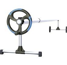 Dispositif d'enroulement et de déroulement pour bâche de piscine 2,1-5,5 m-thumb-0