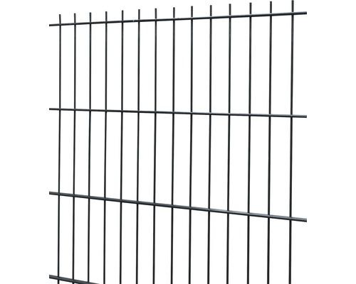 Doppelstabmatte 6/5/6 251x83 cm, anthrazit