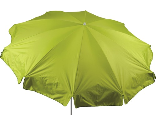 Parasol rond Ø 240 cm, vert clair