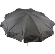 Parasol rond Ø 240cm, gris clair-thumb-0