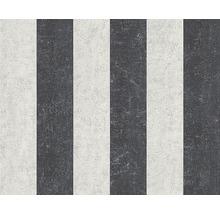 Papier peint intissé 96078-7 Rayures gris blanc cassé-thumb-0