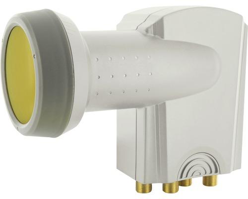 Quad LNB numérique Sun Protect gris clair Schwaiger SPS7944531