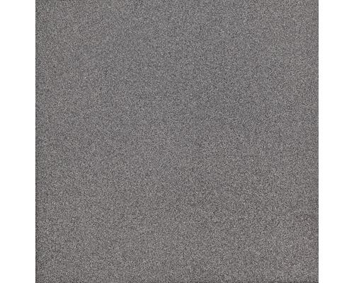 Carrelage de sol en gr s c rame fin gris fonc 30x30 cm for Carrelage fin