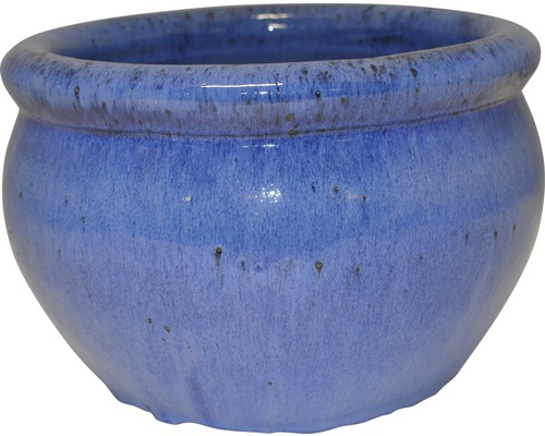 Pot de fleurs Lafiora Bavaria argile Ø25 H17cm bleu