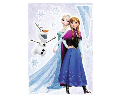 Sticker mural Frozen La Reine des neiges Sisters 50x70 cm