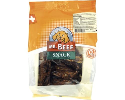 En-cas pour chien Mr. Beef poumon de bœuf 400 g