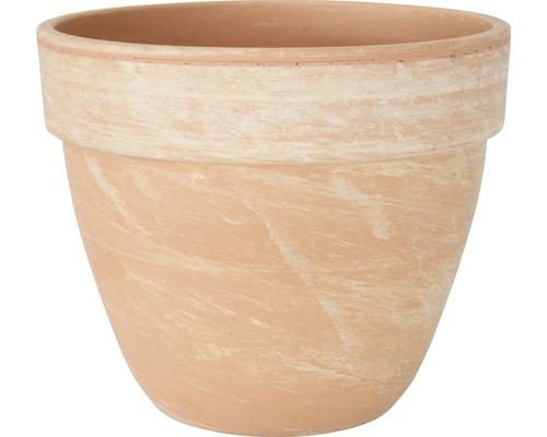 Pot de fleurs Spang Levante terre cuite Ø 19 H 16 cm terracotta