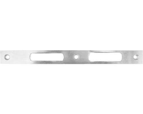 Schließblech für Gartentoreinsteckschloß, 245 x 24 mm