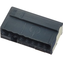 Barrette à bornes micro 243 8 conducteurs 8x0.6-0.8 mm gris 50 pièces Wago-thumb-0