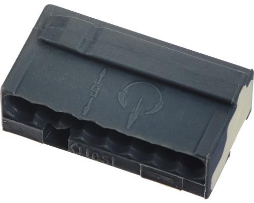 Barrette à bornes micro 243 8 conducteurs 8x0.6-0.8 mm gris 50 pièces Wago-0