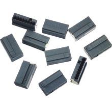 Barrette à bornes micro 243 8 conducteurs 8x0.6-0.8 mm gris 10 pièces Wago-thumb-0