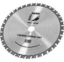Lame de scie circulaire Ø 180x20 mm Holzmann MKS180SB-thumb-0