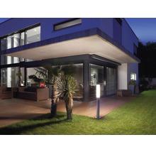 Borne extérieure à LED Steinel avec capteur 8,6W 812 lm 3.000 K blanc chaud H 1.038 mm GL60 acier inoxydable-thumb-3