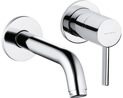 Mitigeur monocommande encastré pour lavabo Kludi Bozz chrome