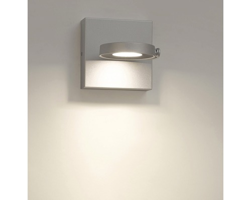 Spot LED Clockwork 1x4 W alu