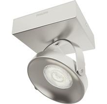 Spot LED Spur 1x4.5W mat chromé-thumb-1