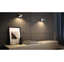 Spot LED Spur 1x4.5W mat chromé-thumb-0