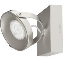 Spot LED Spur 1x4.5W mat chromé-thumb-3