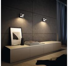 Spot LED Spur 1x4.5W mat chromé-thumb-5