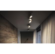 Spot LED Spur 3x4.5W mat chromé-thumb-4