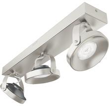 Spot LED Spur 3x4.5W mat chromé-thumb-3